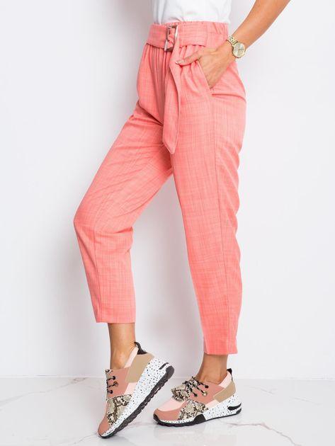 Różowe spodnie Honey                              zdj.                              3