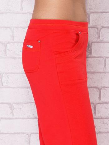 Różowe spodnie sportowe carpi ze ściągaczem                                  zdj.                                  5