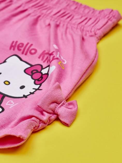 Różowe szorty dla dziewczynki HELLO KITTY                                  zdj.                                  4