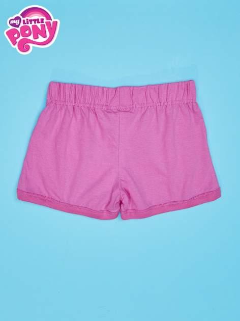 Różowe szorty dla dziewczynki MY LITTLE PONY                                  zdj.                                  2