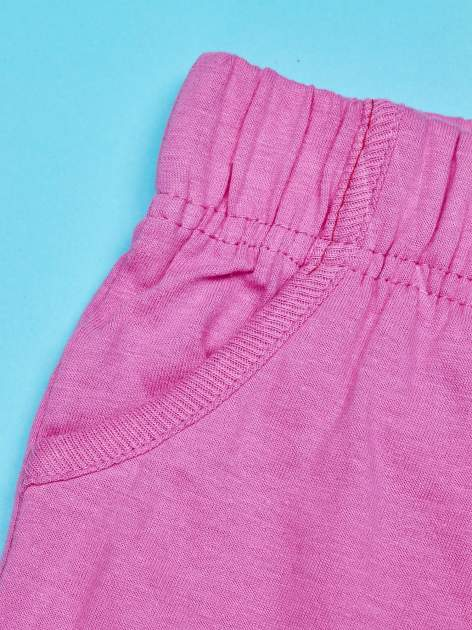 Różowe szorty dla dziewczynki MY LITTLE PONY                                  zdj.                                  3