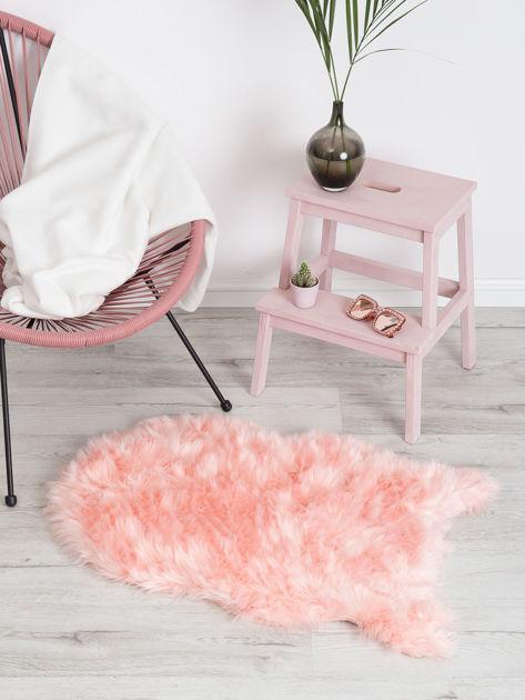 Różowy dywanik shaggy                              zdj.                              3