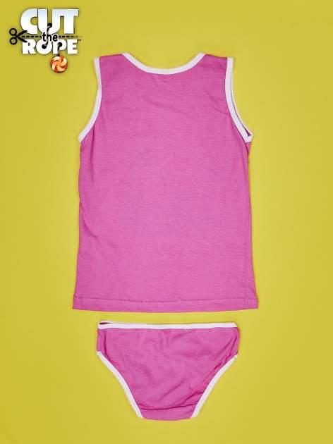 Różowy komplet do spania dla dziewczynki CUT THE ROPE                                  zdj.                                  2