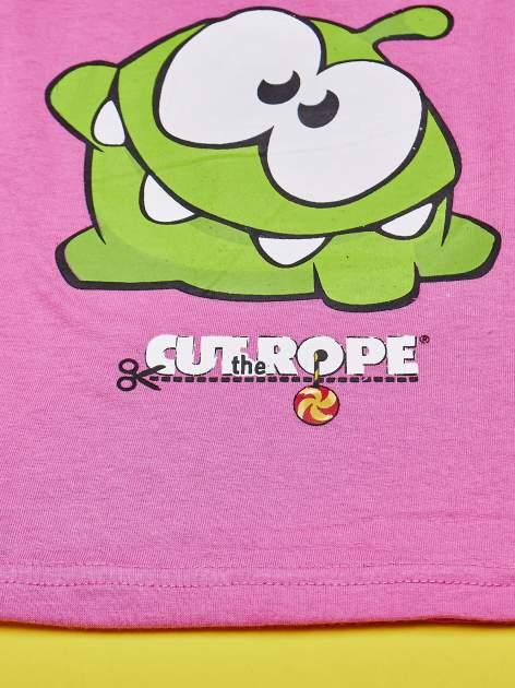 Różowy komplet do spania dla dziewczynki CUT THE ROPE                                  zdj.                                  6