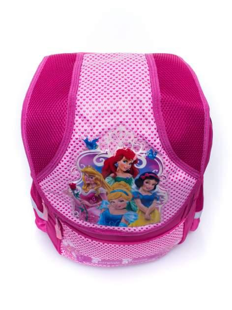 Różowy plecak dla dziewczynki DISNEY z księżniczkami                                  zdj.                                  6