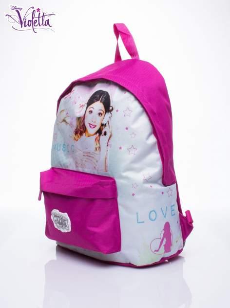 Różowy plecak szkolny DISNEY Violetta                                  zdj.                                  2