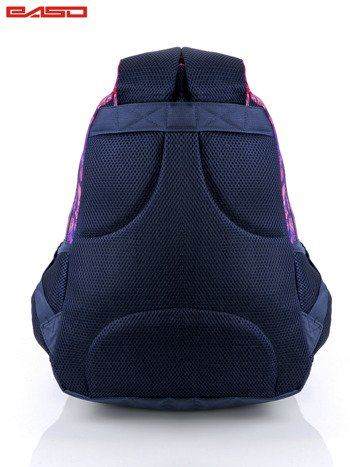 Różowy plecak szkolny dla dziewczynki z etnicznym motywem                              zdj.                              4