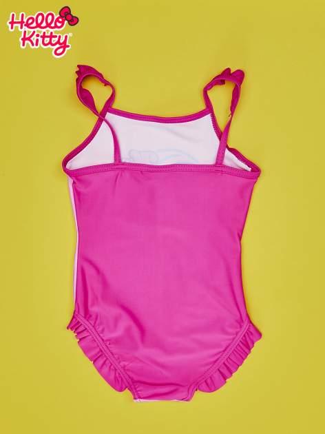 Różowy strój kąpielowy dla dziewczynki HELLO KITTY                                  zdj.                                  2