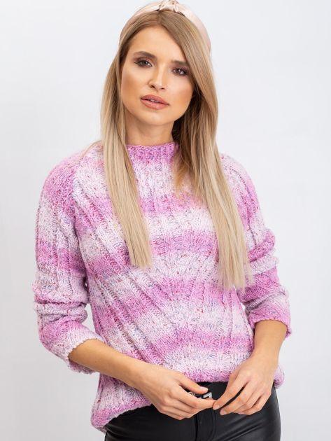 Różowy sweter Madison                              zdj.                              5
