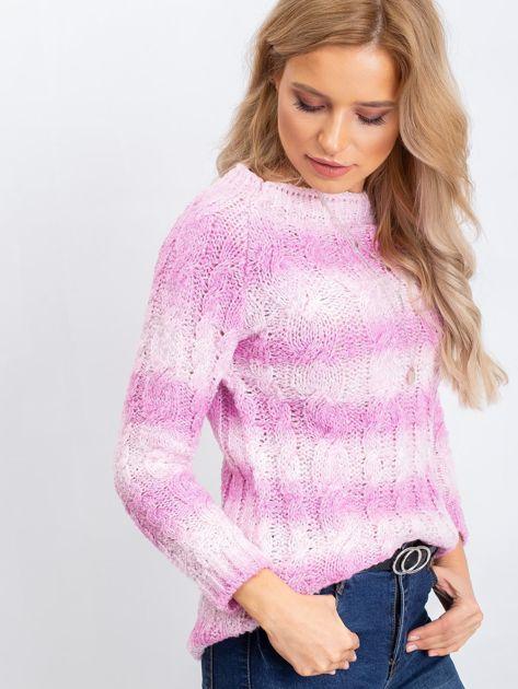 Różowy sweter Tracey                              zdj.                              3