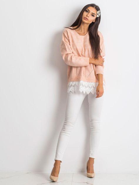 Różowy sweter World                              zdj.                              4
