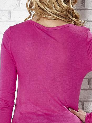 Różowy sweter zapinany na guziczki Funk n Soul                                  zdj.                                  6