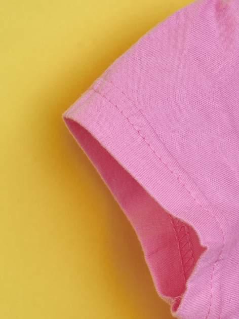 Różowy t-shirt dla dziewczynki MY LITTLE PONY                                  zdj.                                  5