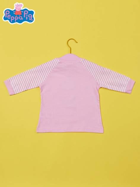 Różowy t-shirt dla dziewczynki ŚWINKA PEPPA                                  zdj.                                  2