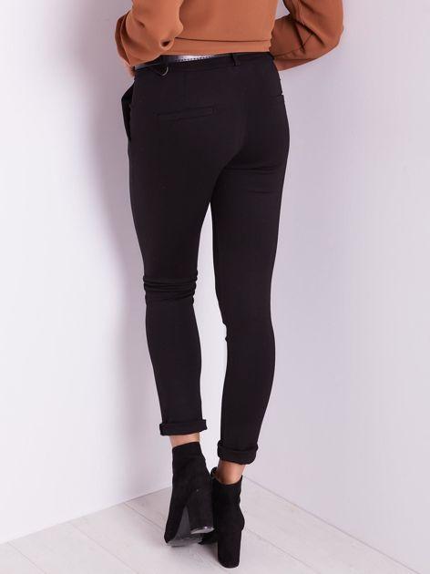 Czarne spodnie damskie                              zdj.                              3