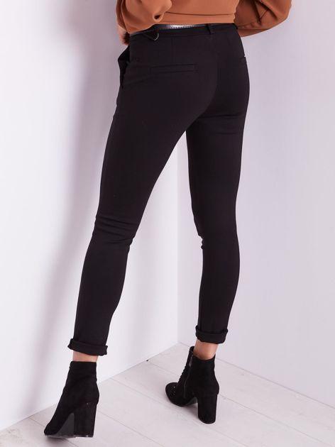 Czarne spodnie damskie                              zdj.                              7
