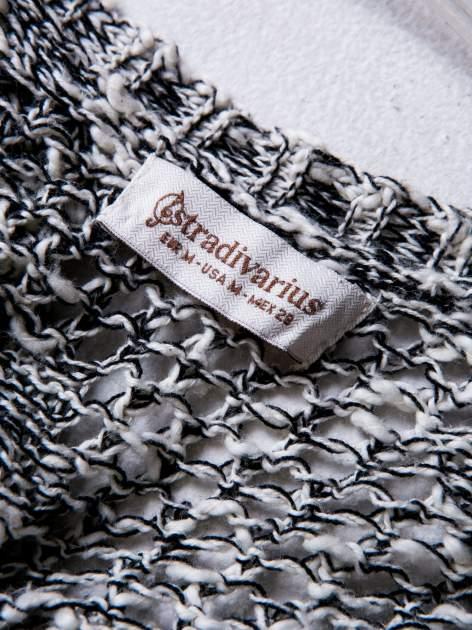 STRADIVARIUS Szary sweter kardigan z kieszeniami                                  zdj.                                  3