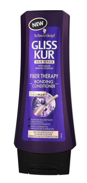 """Schwarzkopf Gliss Kur Fiber Therapy Odżywka do włosów przeciążonych  200ml"""""""