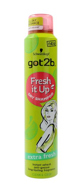 """Schwarzkopf Got 2b Fresh It Up Suchy szampon do włosów EXTRA FRESH  200ml"""""""