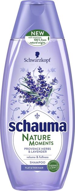 """Schwarzkopf Schauma Nature Moments Szampon do włosów cienkich-Lawenda&Zioła 400ml"""""""