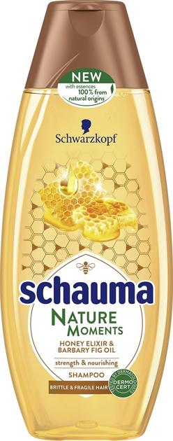 """Schwarzkopf Schauma Nature Moments Szampon do włosów słabych i delikatnych-Miód&Figa 400ml"""""""