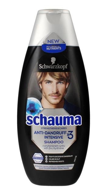 """Schwarzkopf Schauma Szampon do włosów Przeciwłupieżowy Intensiv For Men 400ml"""""""