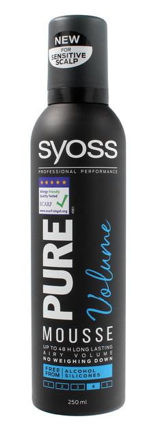 """Schwarzkopf Syoss Pure Volume Pianka do włosów  250ml"""""""