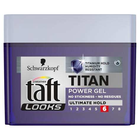 Schwarzkopf Taft Looks Titan Look Extreme Power Żel do włosów 250ml