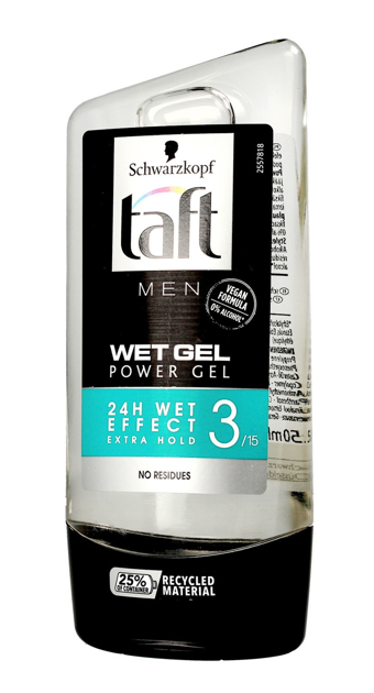 """Schwarzkopf Taft Men Żel do włosów Wet 150ml"""""""
