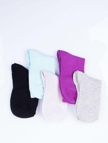 Skarpetki damskie kolorowe mix 5 par                                  zdj.                                  12