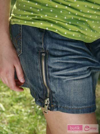 Spódnica Jeans zamek                                  zdj.                                  2