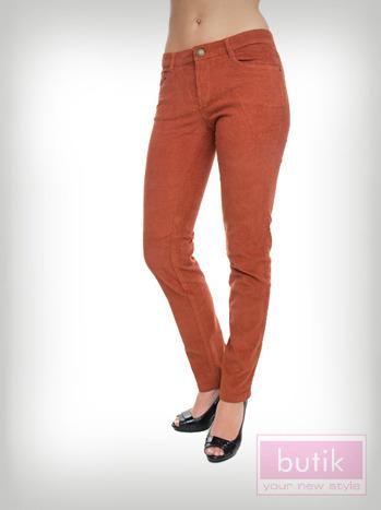 Spodnie sztruksy