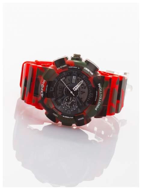 Sportowy męski zegarek wielofunkcyjny. Dwa czasy. Podwójny mechanizm - elektroniczny + analogowy. Wodoodporny                                  zdj.                                  2