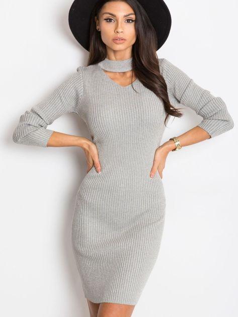 Srebrna sukienka Blink                              zdj.                              5