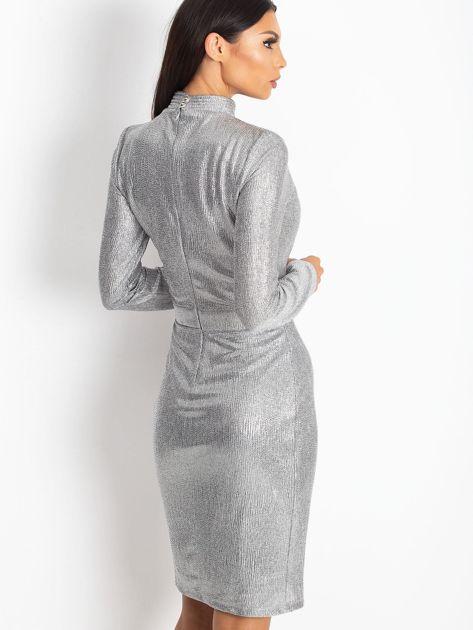 Srebrna sukienka Sparkle                              zdj.                              2