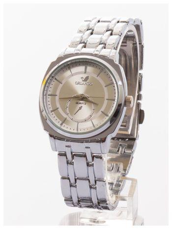 Srebrny damski zegarek. Bardzo kobiecy. Mała tarcza. Delikatny.