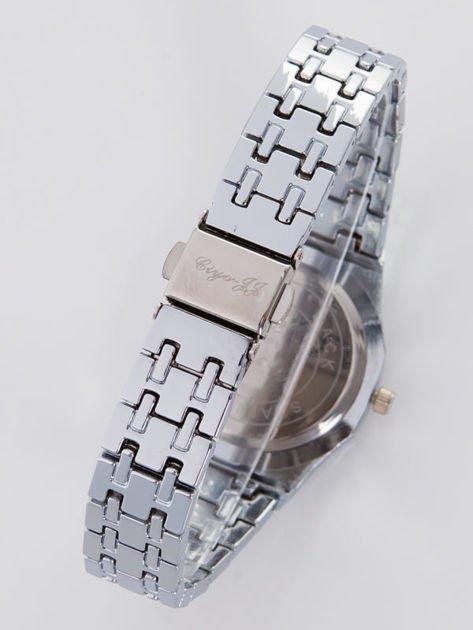 Srebrny zegarek damski na bransolecie                                   zdj.                                  2