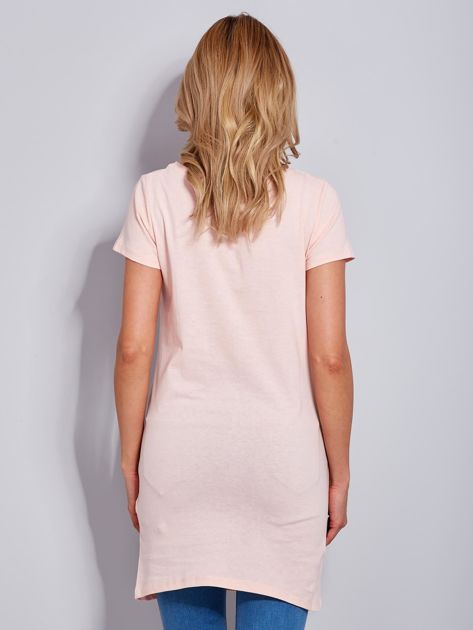 Sukienka brzoskwiniowa bawełniana COOL STORY BRO                                  zdj.                                  3