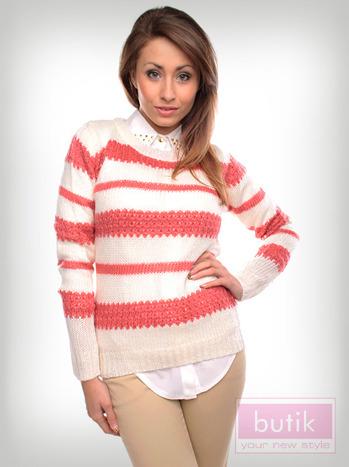 Sweter w paski                                  zdj.                                  6