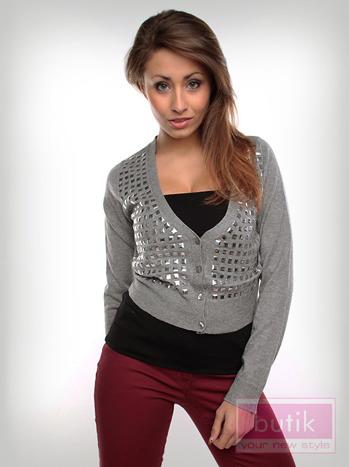 Sweter z dżetami                                  zdj.                                  3