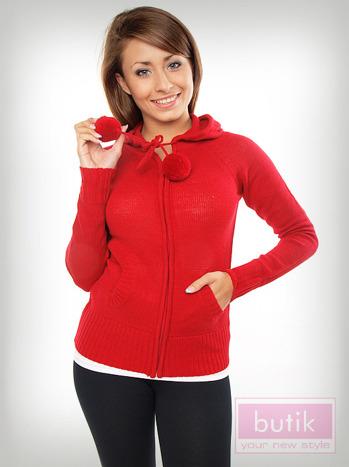 Sweter z kapturem                                  zdj.                                  2
