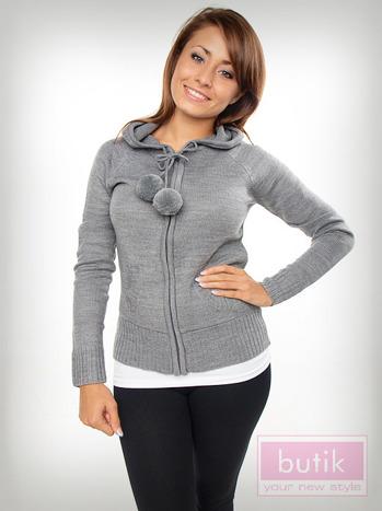 Sweter z kapturem                                  zdj.                                  5
