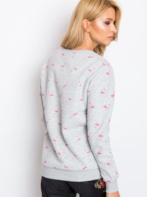 Szara bluza Flamingoo                              zdj.                              2