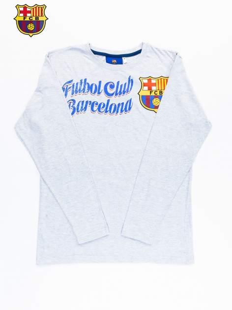 Szara bluzka męska FC BARCELONA                                  zdj.                                  9