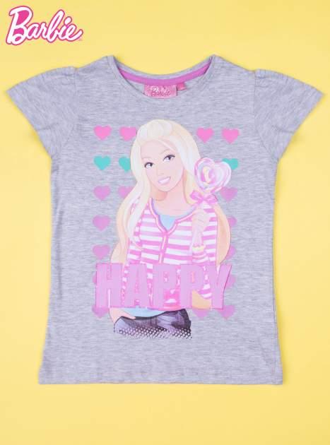 Szara piżama dla dziewczynki BARBIE                                  zdj.                                  2