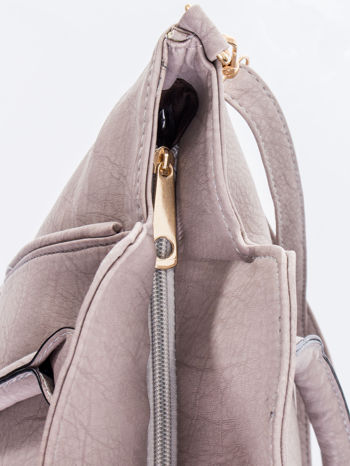 Szara torba shopper bag                                  zdj.                                  10