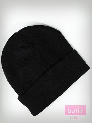 Szara wywijana czapka z literą S                                  zdj.                                  2