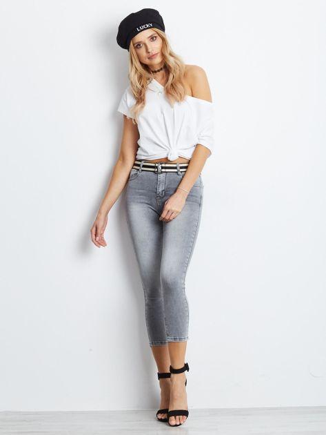 Szare jeansy Approve                              zdj.                              4