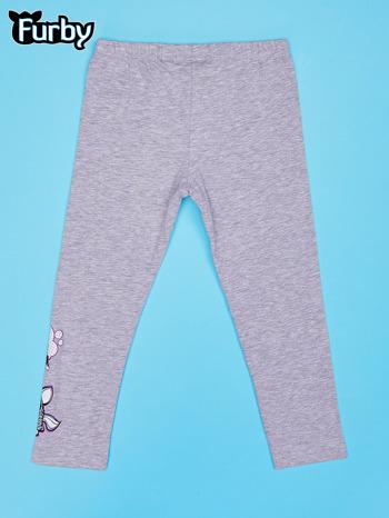 Szare legginsy dla dziewczynki FURBY                                  zdj.                                  2