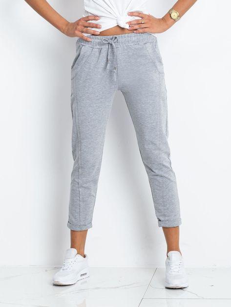 Szare spodnie Approachable                              zdj.                              1
